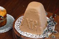 Фото к рецепту: Шоколадная творожная пасха