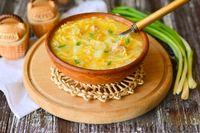 "Фото приготовления рецепта: Суп ""Затируха"" с курицей - шаг №18"