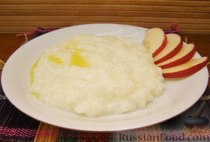 детская молочная рисовая каша рецепт