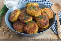 Фото к рецепту: Гороховые котлеты с капустой