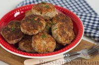 Фото к рецепту: Котлеты из фасоли и риса с орехами