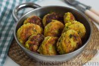 Фото к рецепту: Картофельные котлеты с фасолью