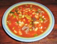 Фото к рецепту: Окрошка на томатном соке