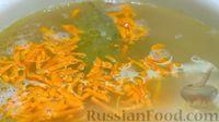 Фото приготовления рецепта: Зелёный борщ со щавелем и крапивой - шаг №7