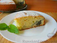 Фото к рецепту: Пирог на кефире, с маковой начинкой