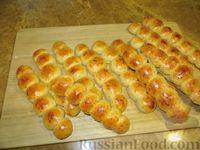 Фото к рецепту: Сырные булочки