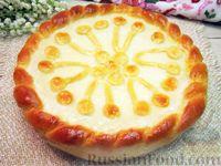 """Фото к рецепту: Дрожжевой пирог """"Сметанник"""""""