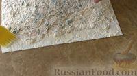 Фото приготовления рецепта: Закуска из лаваша с курицей и плавленым сыром - шаг №5
