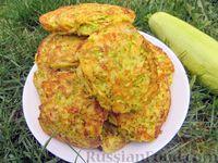 Фото к рецепту: Драники из кабачков и картофеля (кабадраники), с мясной начинкой