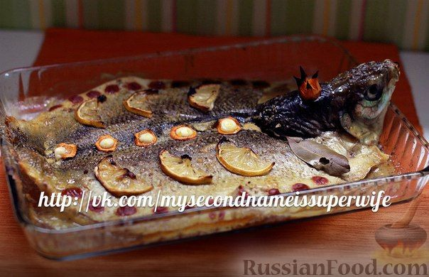 Рыба щекур рецепт