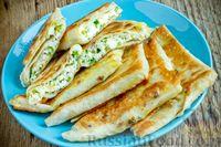 Фото к рецепту: Ленивые хачапури из лаваша