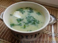 Фото к рецепту: Суп-пюре из кабачков или тыквы и цветной капусты