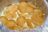 """Фото приготовления рецепта: Торт """"Наполеон"""" без выпечки - шаг №7"""