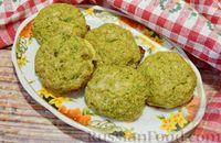 Фото к рецепту: Котлеты из брокколи с сыром и чесноком