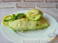Фото к рецепту: Кабачки, фаршированные кускусом и мятой