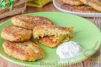Фото к рецепту: Рыбные котлеты с картофелем и морковью