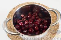 Фото приготовления рецепта: Варенье из черешни с лимоном (на зиму) - шаг №2