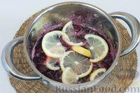 Фото приготовления рецепта: Варенье из черешни с лимоном (на зиму) - шаг №4