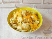Фото к рецепту: Маринованная цветная капуста по-корейски
