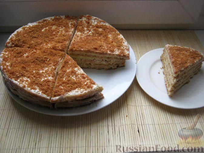 Как испечь торт со сгущенкой