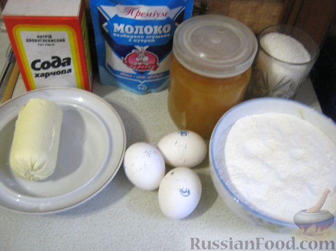 торт медовый с сгущёнкой рецепт приготовления