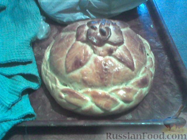 Рецепт Курник - русский традиционный пирог