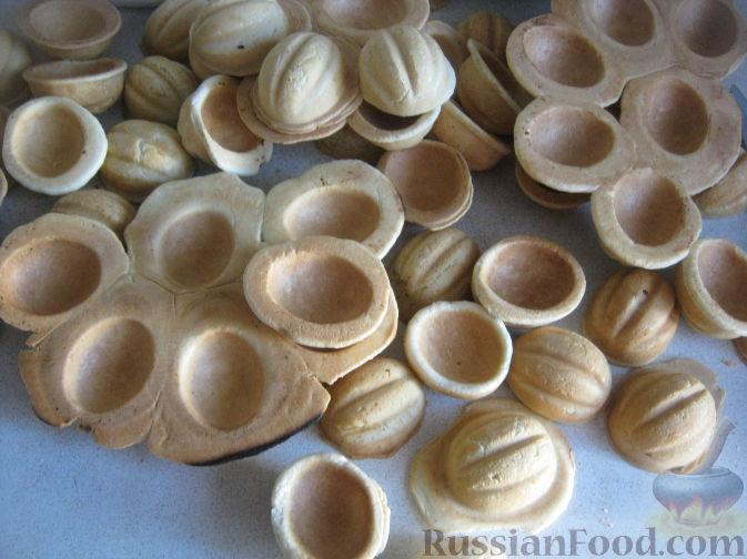Как делать печенье орешки