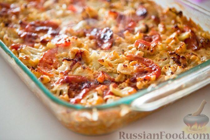 салат из цветной капусты и фарша рецепты с фото