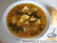 Фото к рецепту: Суп с бычками в томате