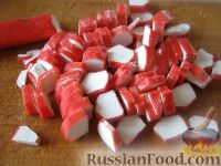 """Фото приготовления рецепта: Салат с сухариками """"Королевский"""" - шаг №2"""