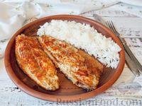 Фото к рецепту: Рыба, запечённая в духовке, с паприкой