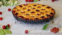 Фото к рецепту: Американский вишневый пирог