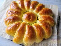 Фото к рецепту: Отрывной пирог с яблоками