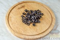 Фото приготовления рецепта: Овощной салат с яблоком, брынзой и маслинами - шаг №7
