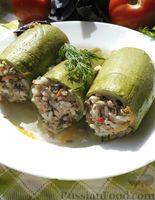 Фото к рецепту: Фаршированные кабачки