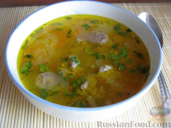 суп с тефтелями рецепт фото