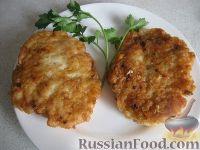 """Фото к рецепту: Рубленые куриные котлеты """"Нежные"""""""