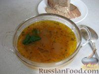 Фото к рецепту: Постный рассольник с перловкой или  рисом