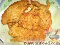 Отбивные из филе индейки - рецепт пошаговый с фото