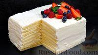 Фото к рецепту: Торт «Молочная девочка»