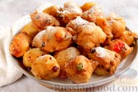 Фото к рецепту: Голландские пончики (oliebollen)
