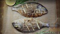 Фото приготовления рецепта: Дорадо, запечённая на мангале - шаг №6