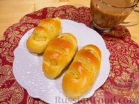 Фото к рецепту: Дрожжевые пирожки в духовке, с картошкой
