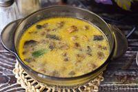 Фото к рецепту: Грибной суп с курицей и молоком