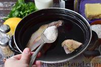 Фото приготовления рецепта: Грибной суп с курицей и молоком - шаг №2
