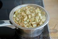 Фото приготовления рецепта: Котлеты из баклажанов с сыром и мятой - шаг №3