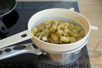 Фото приготовления рецепта: Котлеты из баклажанов с сыром и мятой - шаг №4