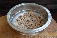 Фото приготовления рецепта: Котлеты из баклажанов с сыром и мятой - шаг №6