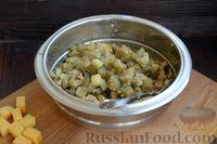 Фото приготовления рецепта: Котлеты из баклажанов с сыром и мятой - шаг №8