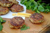 Фото приготовления рецепта: Котлеты из баклажанов с сыром и мятой - шаг №13